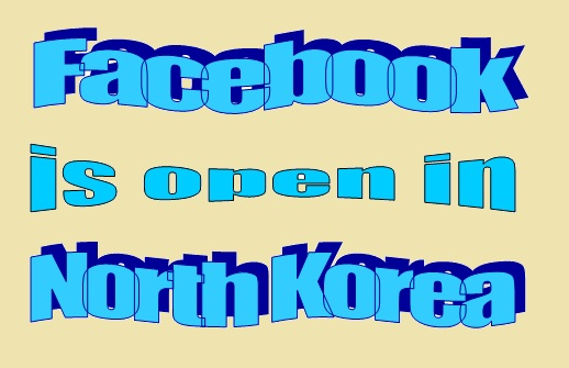 facebook home page is open in north korea bdlance.net